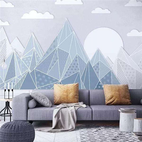 关键词:山水风景,水墨渲染      以细腻