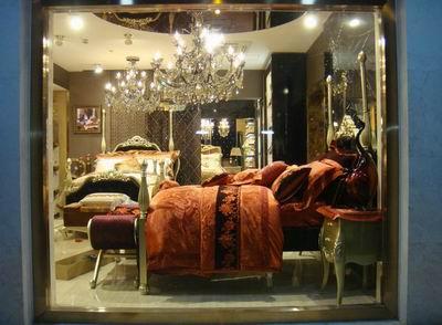 家紡店面櫥窗設計及陳列