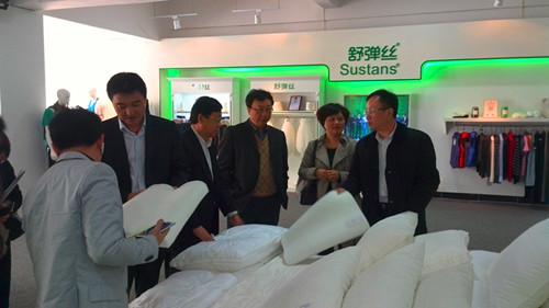 杨兆华带队考察福建海兴科技